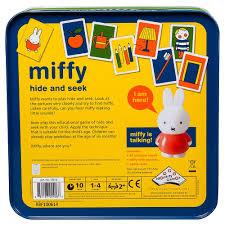 miffy hide and seek toy sense