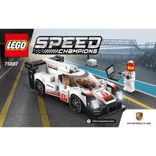 porsche instructions porsche 919 hybrid set 75887 instructions brick owl