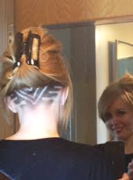 Half Shaved Hairstyles Girls by My Undercut From Alaska To Kosovo