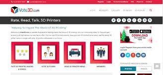 vote 3d vote on 3d printed images read 3d news u0026 more