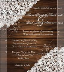 rustic country wedding invitations 21 country wedding invitation templates free sle exle
