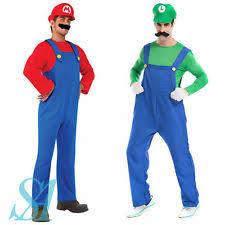 Mario Womens Halloween Costume Mario Costume Ebay