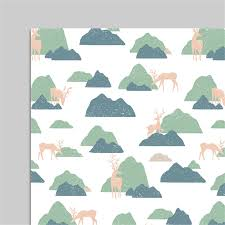 camo christmas wrapping paper birthday present elk wrapping gift wrap artware packing package