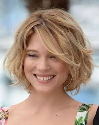 hairstyle square face wavy hair short hairstyles and cuts short hairstyles for thick wavy hair 129