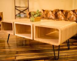 Plywood Coffee Table Mid Century Modern Coffee Table