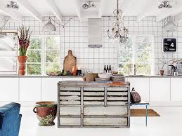Vintage Inspired Kitchen by Swedish Bohemian Modern Swedish Kitchen Modern And Kitchens