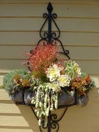 Wrought Iron Wall Planters by Wonderful Wall Planter On The Porch Pinterest Planters And