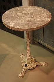 Antique Bistro Table Vintage Marble Bistro Table With Antique Marble Bistro