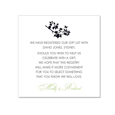 gift card registry wedding wedding registry cards