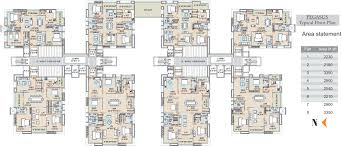 3370 sq ft 4 bhk 5t apartment for sale in meenakshi group sky