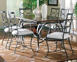 Wrought Iron Dining Table And Chairs Mesmerizing Wrought Iron Dining Room Table And Chairs 24 In Diy