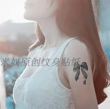 new arrival temporary tattoos tattoo stickers aesthetic lace bow