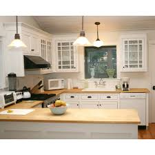 Cottage Style Kitchen Design Shop Q Solutions Company 6 Ft Bamboo Countertop At Lowe U0027s Canada