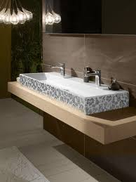 bathroom basin ideas bathroom glamorous bathroom decorating ideas using glass