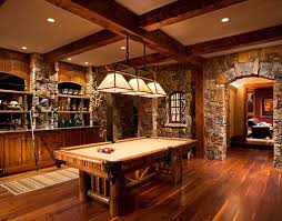 Games For Basement Rec Room by Want The Same Stonework And Floor In Our Game Room Bar Area Minus