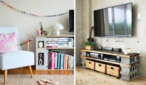 creative ways to use cinder blocks in your dorm room the