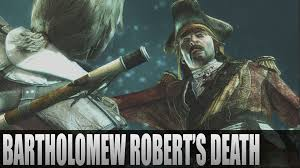 Bartholomew Roberts Flag Assassin U0027s Creed 4 Black Flag Bartholomew Robert U0027s Death Youtube