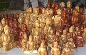 bali wooden carving like buddha wooden carving in any style and