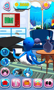 talking android talking octopus free app android freeware