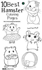 top 25 free printable hamster coloring pages online pet