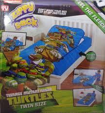 Teenage Mutant Ninja Turtles Twin Bed Set by Sack Nickelodeon Teenage Mutant Ninja Turtles Tmnt Twin Size Bed New