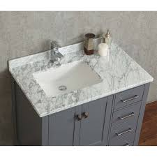 Bathroom Vanity Grey by Buy Vincent 36 Inch Solid Wood Single Bathroom Vanity In Charcoal
