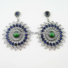 plastic stud earrings daily wear fashion jewellery silver jhumka plastic stud