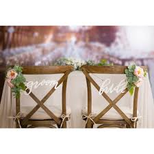 and groom chair signs and groom chair signs knot and nest designs