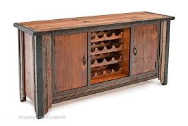rustic wine cabinets furniture barn wood cabinet with wine rack western furniture ranch console