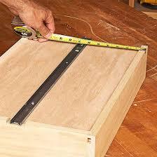 cabinet drawers that slide ball bearing drawer slides at rockler