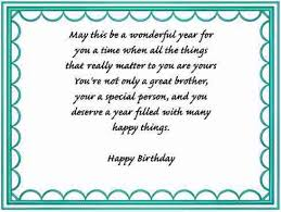 brother birthday verses card verses greetings and wishes