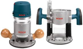 bosch 1617evspk 12 amp 2 1 4 horsepower plunge and fixed base