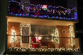 fresh christmas light ideas for balcony on exterior design with