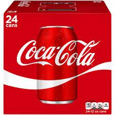 Images Of Coke Coca Cola Cans 12 Fl Oz 24 Pack Walmart Com