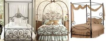 Iron Canopy Bed Wrought Iron Canopy Beds Four Poster Canopy Beds Black Iron Canopy