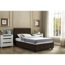 Black Leather Platform Bed Bed Black Leather Bed Frame Home Design Ideas