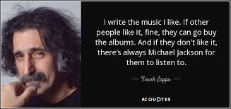 where to buy photo albums frank zappa quote i write the i like if other like
