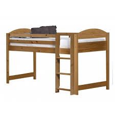 Maximus Midsleeper Bed In Solid Pine Available As Set With Furniture - Mid sleeper bunk bed
