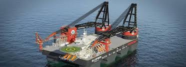 hvac semi submersible crane vessel sleipnir