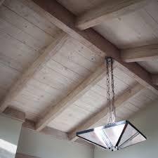 wood ceiling u0026 beam refinishing u2014 painting by bianco