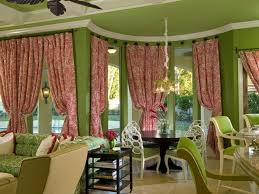dining room curtain ideas barred window standing lamp buffet table