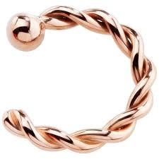 nose rings gold images 14k rose gold twisted nose ring hoop choose your size ebay Jpg