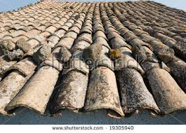 Terracotta Tile Roof Terracotta Tiles On The Roof Of Campanile Of Florence Cathedral