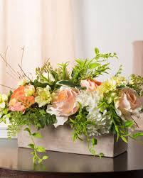 english garden rose flower arrangement u0026 greenery balsam hill