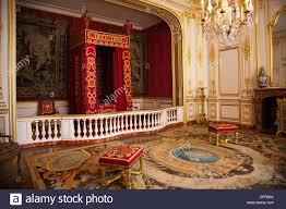 chambre louis 14 la chambre à coucher de louis xiv au château de chambord dans la