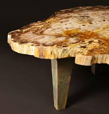 zs b table 42x54 petrified wood furniture russell zuhl