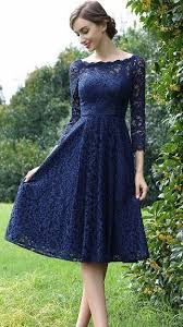 model dress edressit sleeves blue plunging v neck lace dress homecoming
