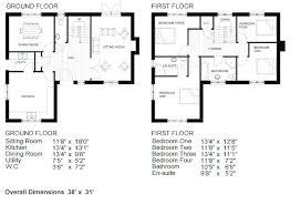 Ground Floor 3 Bedroom Plans Modren 3 Bedroom Floor Plans With Dimensions Bungalow Garage And