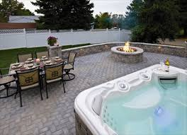 Backyard Entertaining Landscape Ideas Patio With Fire Pit By Ep Henry Would Love This For Our