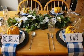 thanksgiving dinner table decor charisma shah